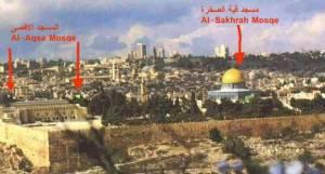 The real Masjid Al Aqsa